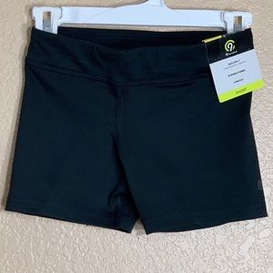 C9 by Champion girls black spandex shorts